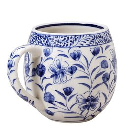 Butterfly and Flowers Mug,  Vietnam