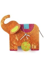 Silly Clocks Elephant, Orange, Columbia