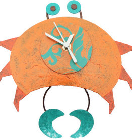 Silly Clocks Crab, Orange, Colombia