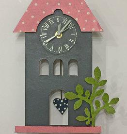 Silly Clocks Melody House, Dark Gray, Colombia