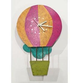 Silly Clocks Hot Air Balloon w/ Cloud, Colombia