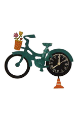 Silly Clocks Bicycle, Teal, Colombia