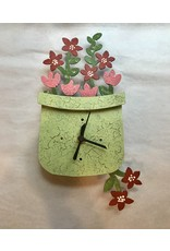 Silly Clocks  Spring Pot, Green, Colombia