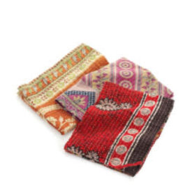 Kantha Dish Towel, India