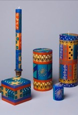 African Sky Votive Candles, Set of 6