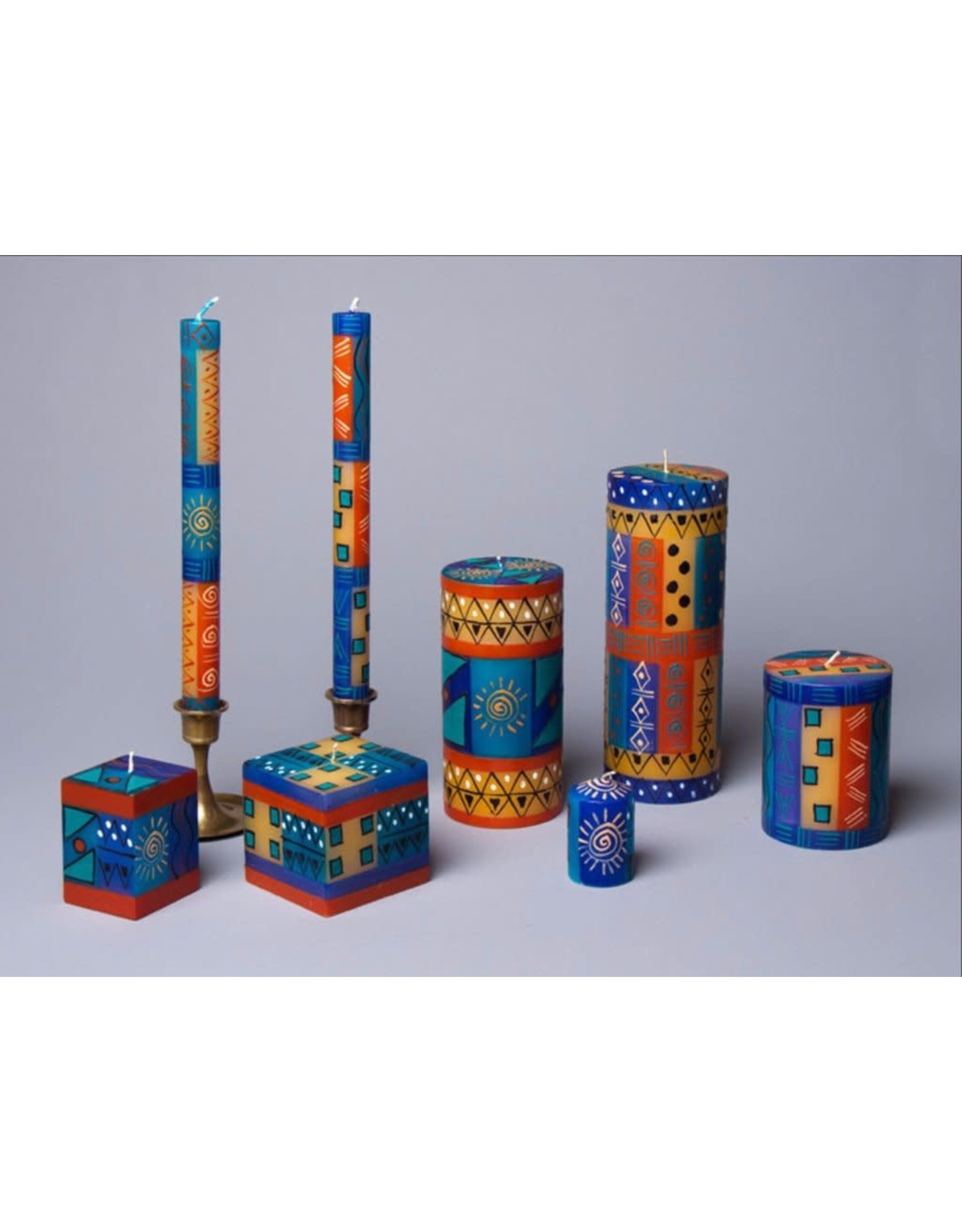 African Sky, Votive Candles, Set of 6, South Africa