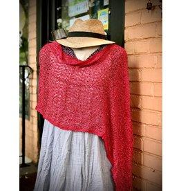 Shrug, Cherry Red, Wear 5 Ways!