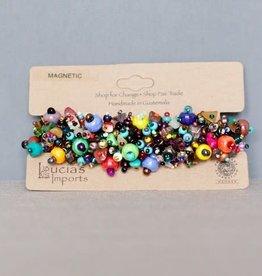 Magnetic Beach Ball Caterpillar Bracelet