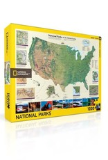 American National Parks Puzzle,1000 pieces