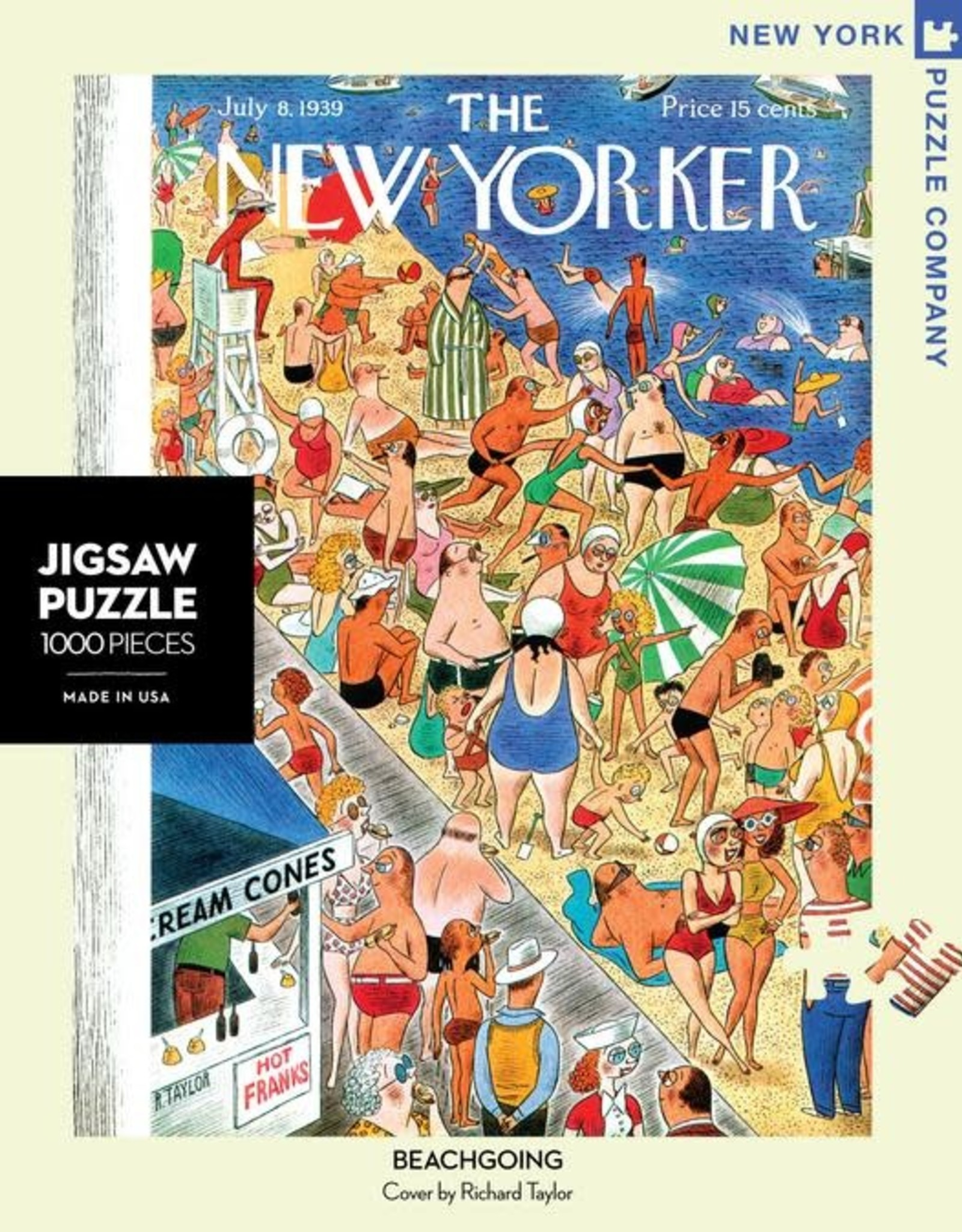 Beachgoing Puzzle, 1000 Pieces