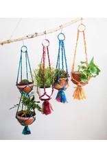 Sari Macrame Hanging Bowl