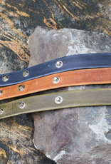 Leather Belt Bracelet, Guatemala