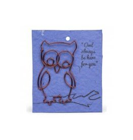 Wire Owl Bookmark, India