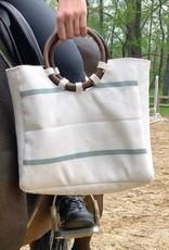 Firehose Wood Handled Bag