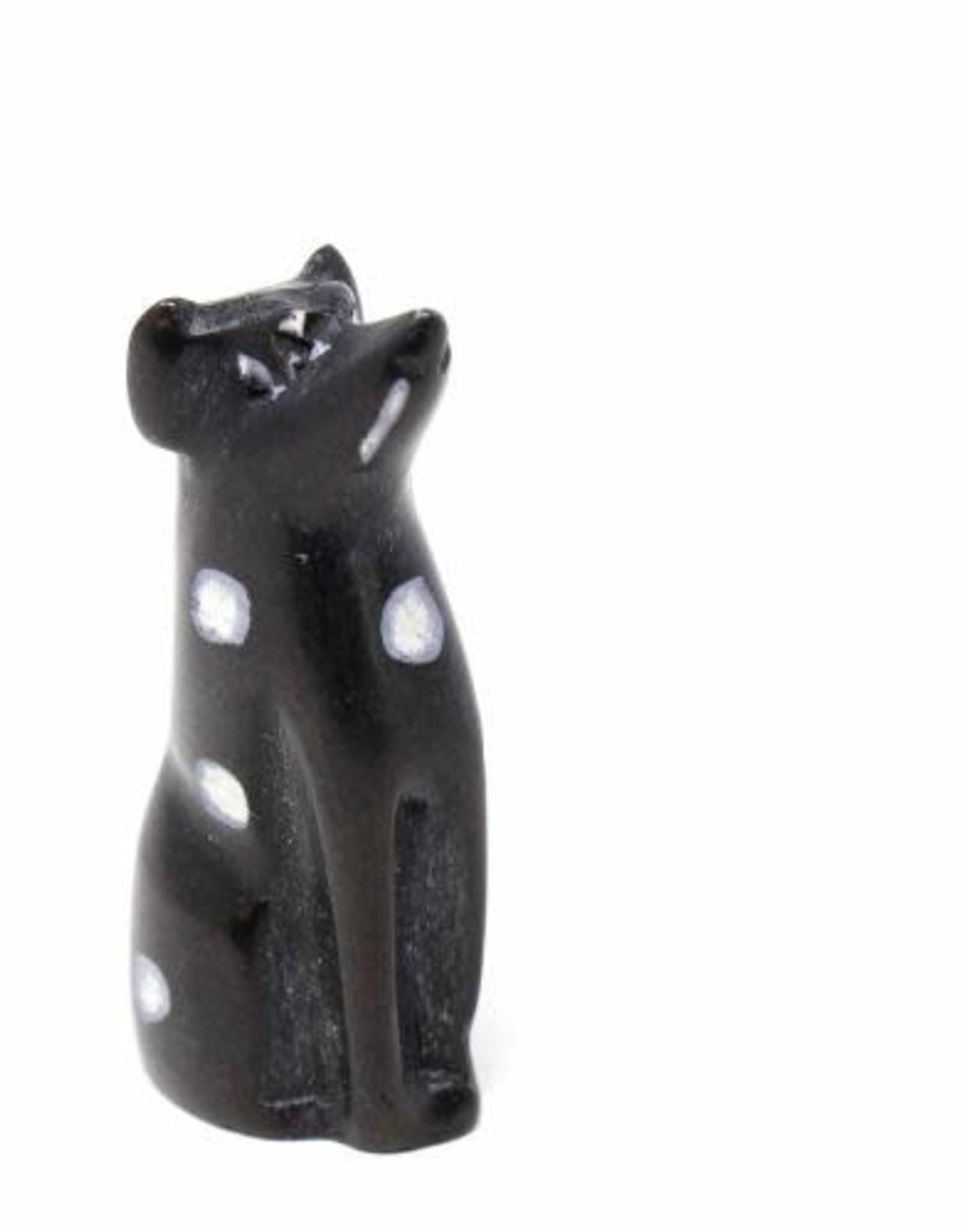 Soapstone Dog, Black