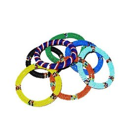 Maasai Bangle Individual, Choose your color!