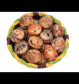 Forest Mix Gourd Ornament, Peru
