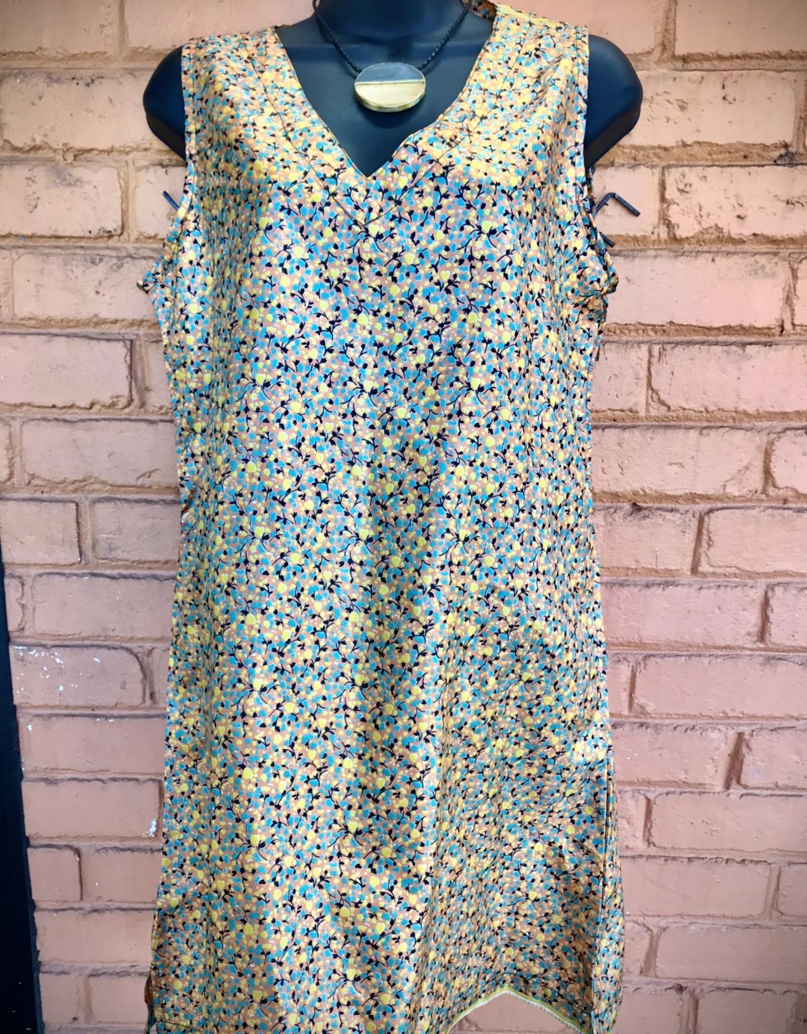 Silk Sari Tunic or Dress, Nepal