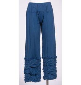 3/4 Cotton Pants w/ Tree Embroider, Nepal