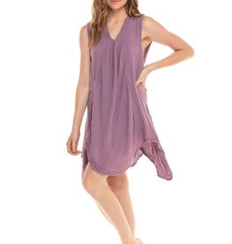 Pippy Cotton Tank Dress Lavender L/XL, Thailand