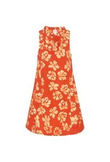 Eli Cutout Dress, Tangerine, Ghana