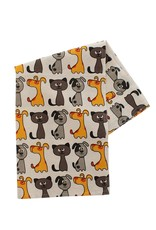 Cat and Dog Tea Towel