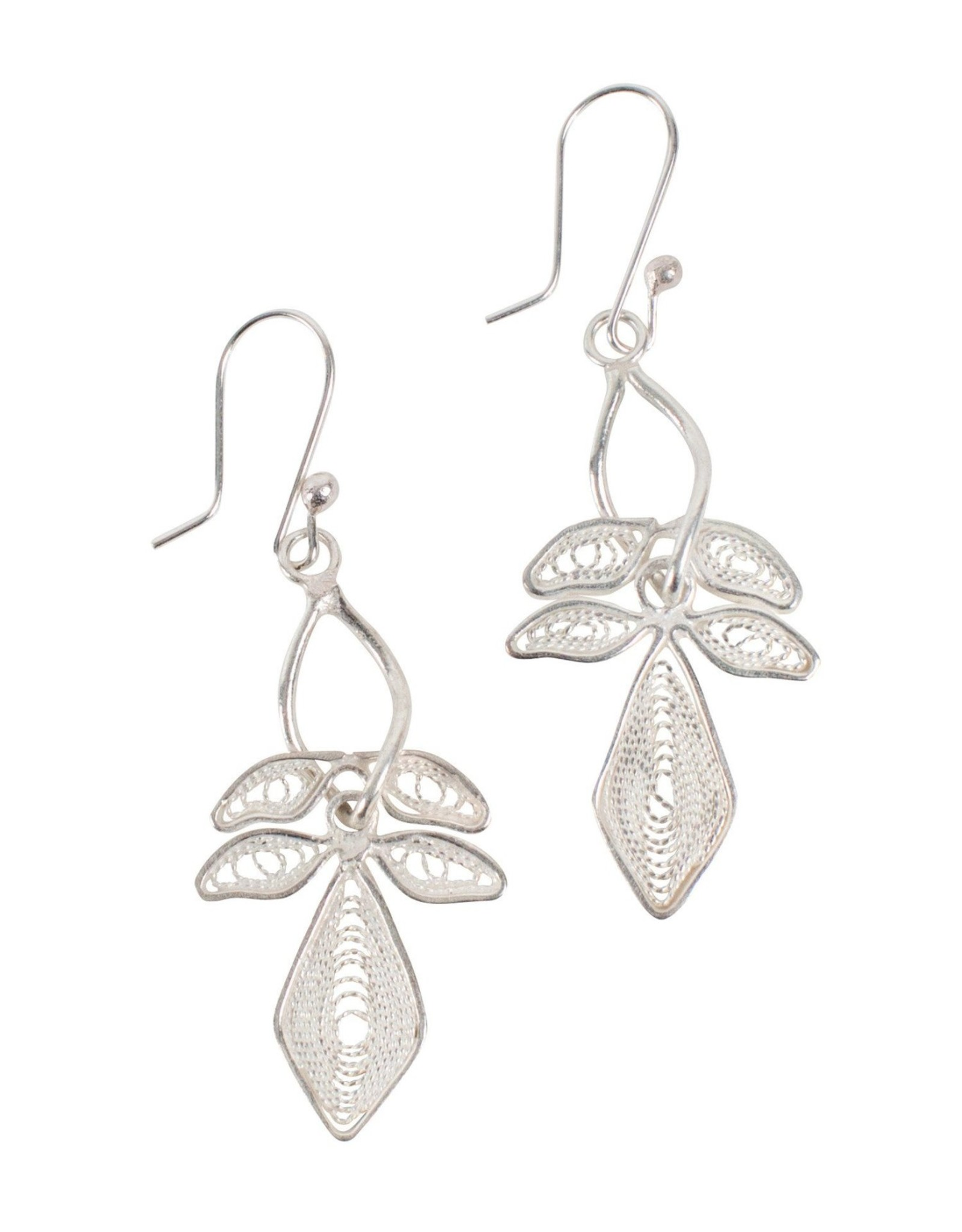 Lily Filigree Earrings