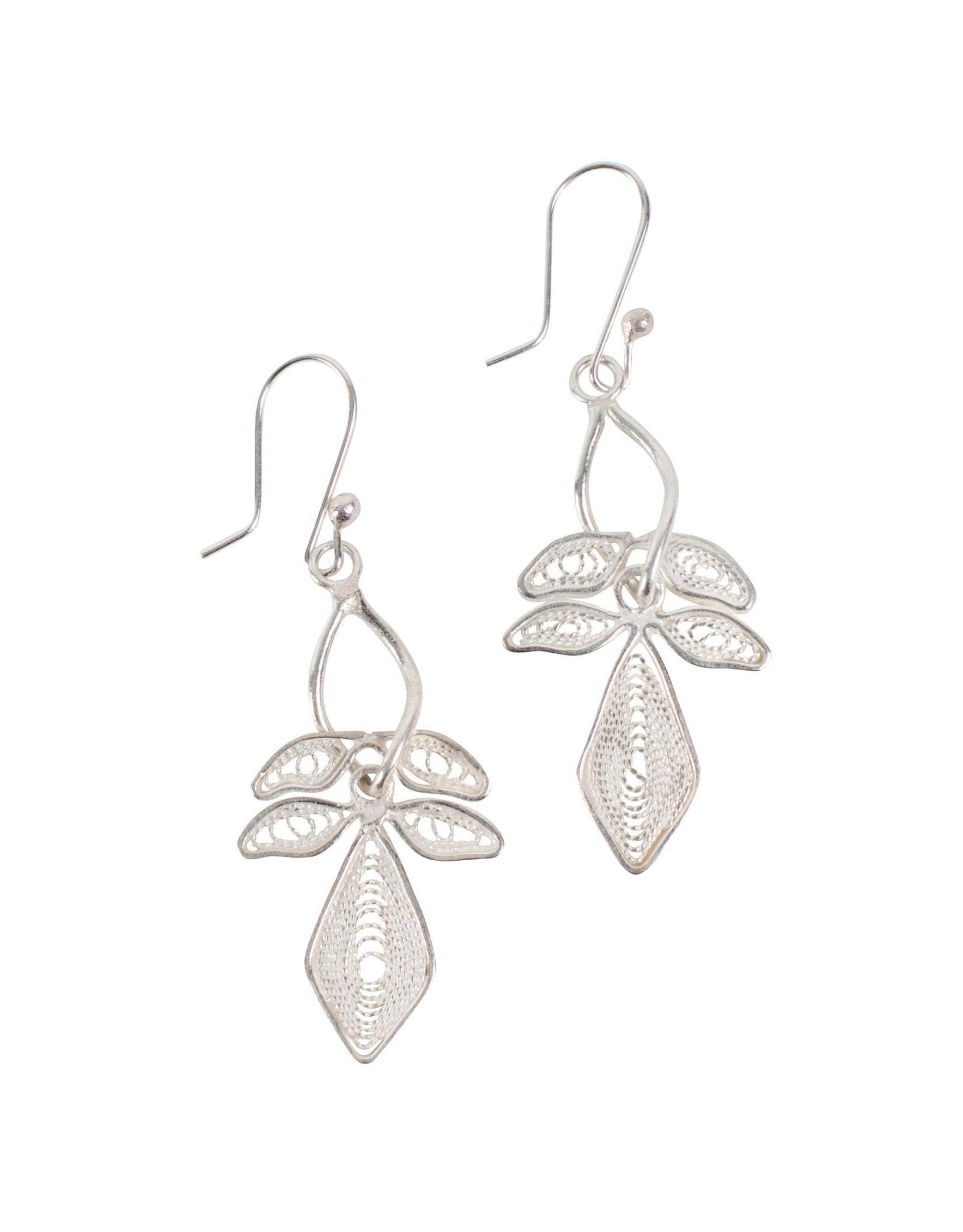 Lily Filigree Earrings