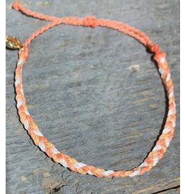 Pura Vida, Mini Braided Multi Bracelet, Warm