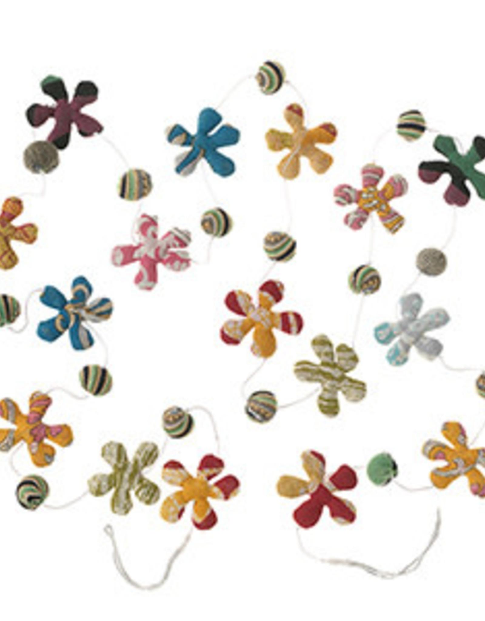 Sari Flower Garland, India
