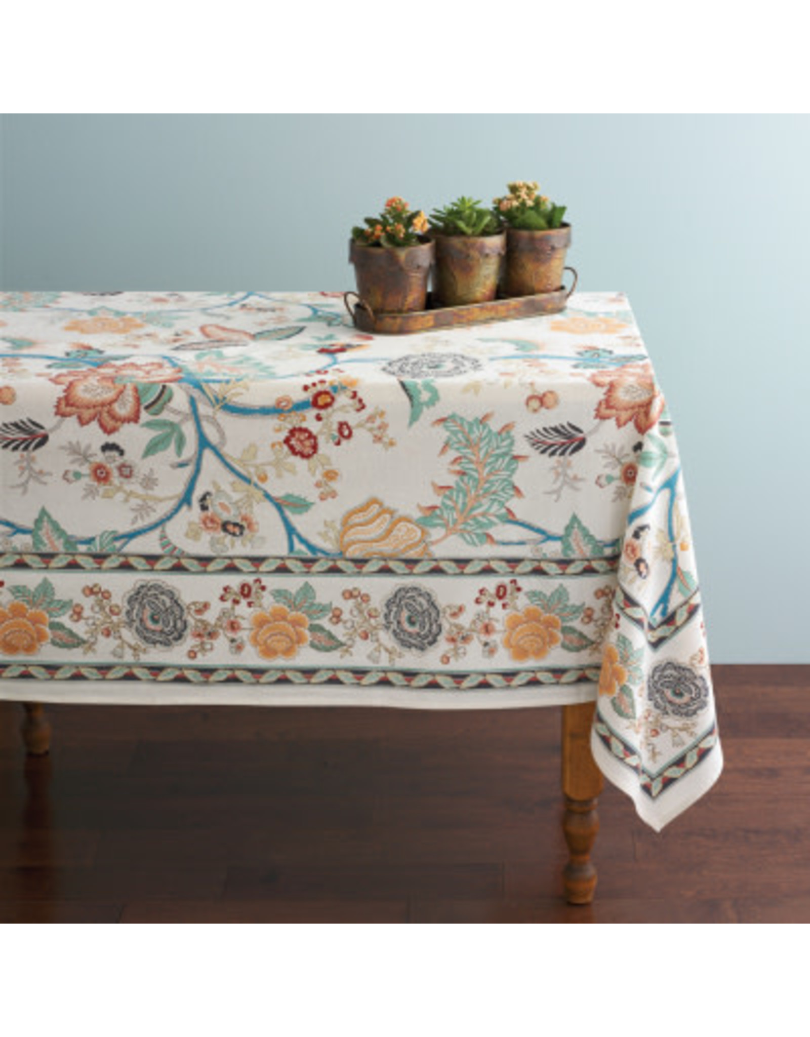 Modern Jaipur Tablecloth 60 x 90, India