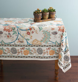 India, Modern Jaipur Tablecloth 60 x 90