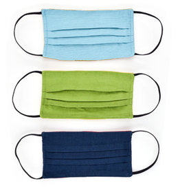 Reversible Cotton, and Cotton/Poly Face Mask