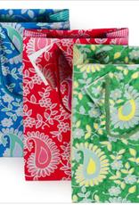 Paisley Medium Gift Bag, India