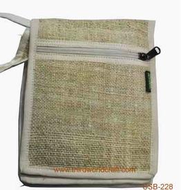 Hemp Passport Bag, Nepal