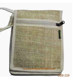 Hemp Passport Bag, Nepal