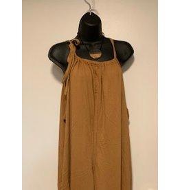 Cotton/Lycra JumpSuit, Mustard