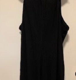 Cotton/Lycra Jumpsuit, Black
