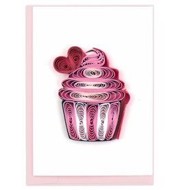 Quill Cup Cake Gift Enclosure