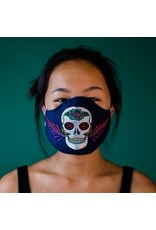 Sugar Skull Mask, Guatemala