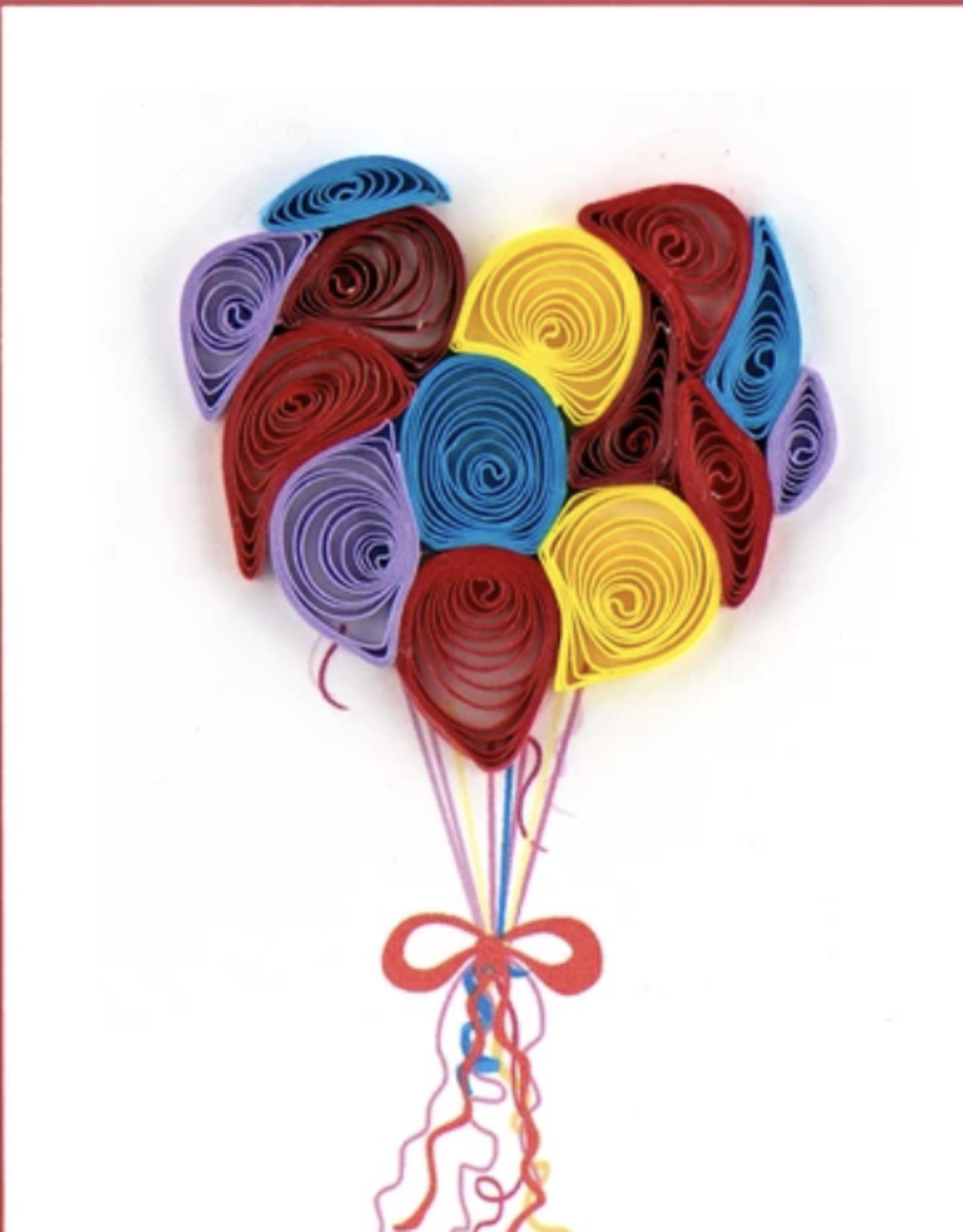 Balloon Heart Gift Enclosure