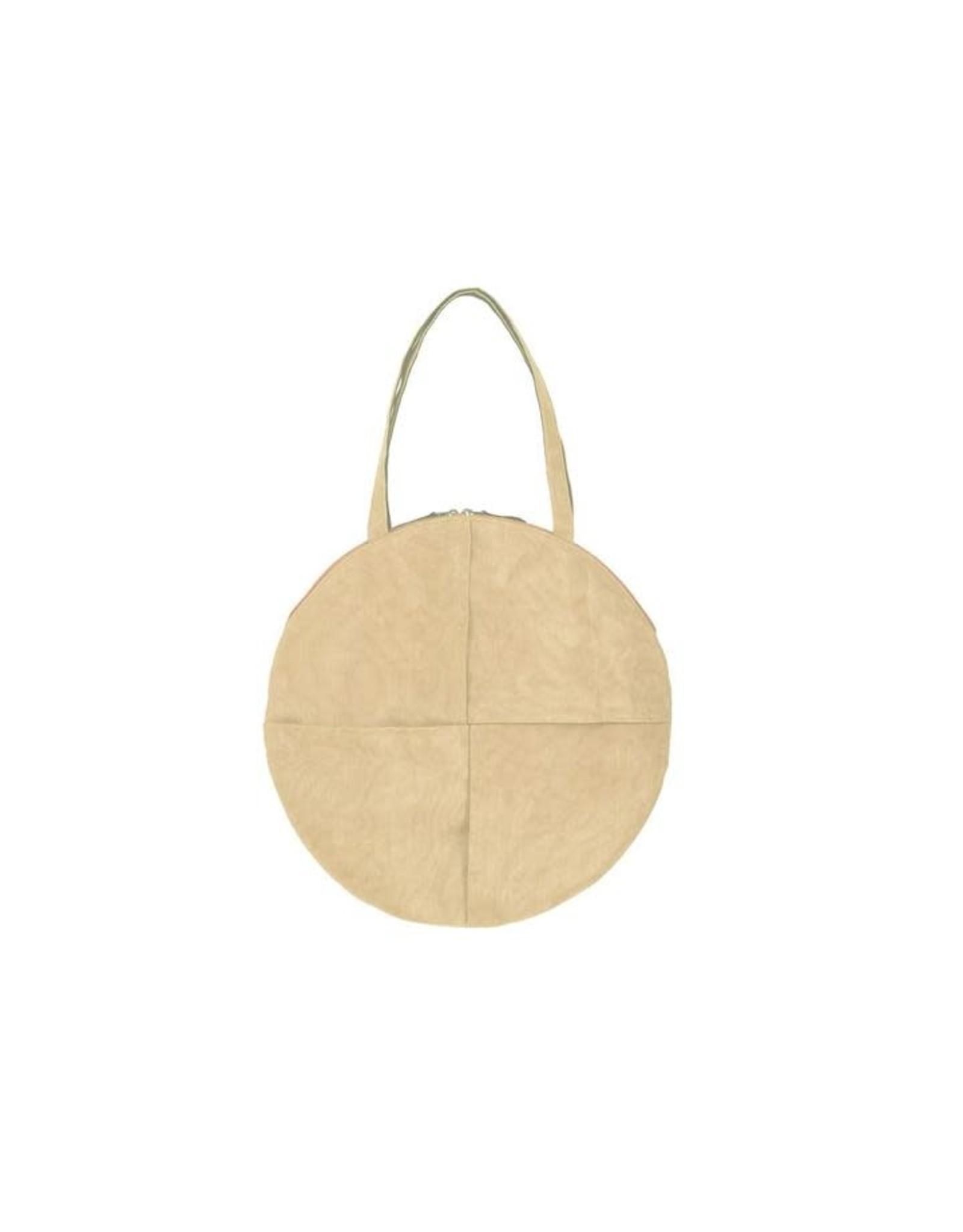 Chanlina CIRCLE Shoulder Bag, Sand, Cambodia