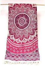 Bohemian Tapestry Pink Tones, India