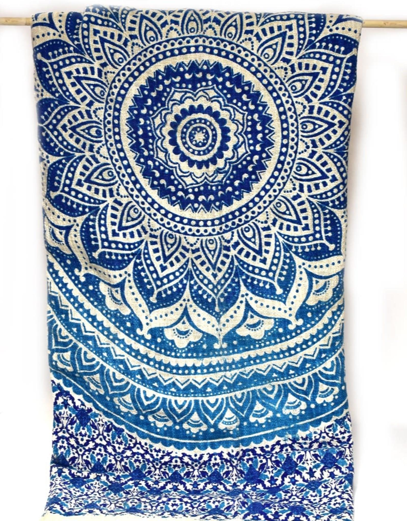 Bohemian Tapestry Blue/Purple Tones, India