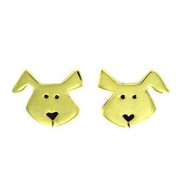 Doggie Post Earrings, Mexico