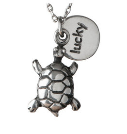 Pendant Necklace Lucky Turtle, Thailand