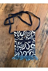 Hmong Indigo Batiked Passport Bags, China