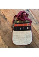 Hemp Cotton Crossbody Bag, Nepal