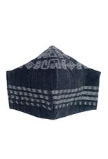 Corte Mask, w/ Pocket Adult, Black Tones