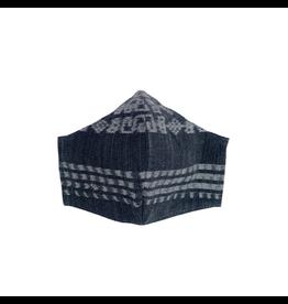 Corte Mask, w/ Pocket Adult, Black Tones, Guatemala